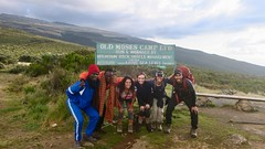 """Day 1 at Mount Kenya National Park: after a 3 hours afternoon hike we made it to the Old Moses camp at 3300m above sea level.  Kenya  Nov 2018 #itravelanddance • <a style=""""font-size:0.8em;"""" href=""""http://www.flickr.com/photos/147943715@N05/45790315232/"""" target=""""_blank"""">View on Flickr</a>"""
