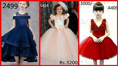Top Stylish Kids Ball Gown Dresses With Price Buy Online// Party Wear Dresses for Kids (The Beauty Writer) Tags: top stylish kids ball gown dresses with price buy online party wear for
