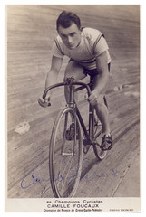 Camille Foucaux. (Paris-Roubaix) Tags: camille foucaux french cyclocross champion vintage bicycle racing photographs pista