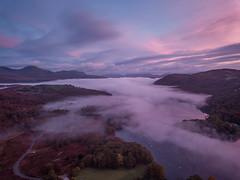 Inversion coniston (jasonhudson2) Tags: drone aerial landscape lakedistrict coniston inversion cloud sunrise trees awesome dji mavic