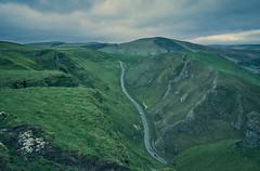 NYE Winnats Pass (JWB Creative Life) Tags: lime sone gorge pass derbyshire peaks uk england green hills landscape road fuji 16mm