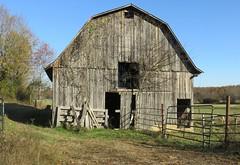Ozark Plateau Barn (Fulton County, Arkansas) (courthouselover) Tags: arkansas ar landscapes barns fultoncounty arkansasozarks ozarkmountains northamerica unitedstates us