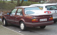Ford Orion NZ28409 still on the roads of Copenhagen but not used much (sms88aec) Tags: ford orion nz28409 still roads copenhagen but used much