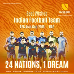 All the best to the Indian Football Team as they start their journey in the AFC Asian Cup. #Asiacup #Football #BackTheBlue  #AsianDream  #Kerala #Kochi #India  #Architecture #Home #Trivandrum #Wayanad #Elegance  #Elegant  #Beauty #Beautiful #Exquisite #In (nucleusproperties) Tags: beautiful life kochi elegant style trivandrum asiacup kerala wayanad lifestyle india luxury villa comfort apartment nature architecture interior gorgeous design elegance beauty exquisite view football atmosphere home backtheblue asiandream