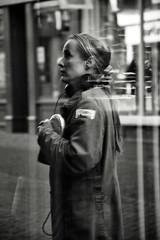 Sounds from the Streets (Bury Gardener) Tags: monochrome mono burystedmunds bw blackandwhite britain 2019 nikond7200 nikon people peoplewatching folks suffolk streetphotography street streetcandids snaps strangers candid candids abbeygatestreet