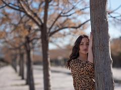 DIDX6535--GF110mmF2 R LM WR--1-1100 s à f - 2,5--ISO 100 (Did From Mars) Tags: léa marseille portrait women pretty girl autumn trees winter hiver arbre freckles