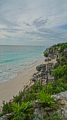2017-12-07_09-44-26_ILCE-6500_DSC02505 (Miguel Discart (Photos Vrac)) Tags: 2017 24mm archaeological archaeologicalsite archeologiquemaya beach e1670mmf4zaoss focallength24mm focallengthin35mmformat24mm hdr hdrpainting hdrpaintinghigh highdynamicrange holiday ilce6500 iso100 landscape maya meteo mexico mexique pictureeffecthdrpaintinghigh plage sony sonyilce6500 sonyilce6500e1670mmf4zaoss travel tulum vacances voyage weather yucatecmayaarchaeologicalsite yucateque
