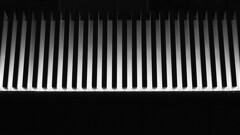 Adorned building (Shaka1277) Tags: adaptedlens adapted manual fuji fujifilm xt2 street streetphotography dublin dublincity night nighttime monochrome mono monochromatic blackandwhite abstract minimal minimalistic