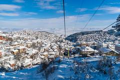 Krushevo Winter Scenery (prophotocorner) Tags: krushevo winter scenery lake paragliding attraction town highest
