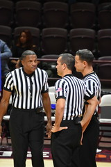 TED VALENTINE (SneakinDeacon) Tags: vatech virginiatech hokies centralconnecticut bluedivils acc basketball cassellcoliseum referees