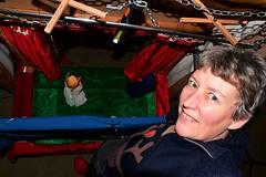 339 2018 more Pelham puppet practice (Margaret Stranks) Tags: 339365 365days 2018 pelhampuppets theatre angel mary crocs