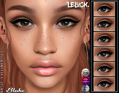 [LeLuck]Basic Eyeliner Set Blake (Sunkora) Tags: secondlife catwa omega genus project mocap leluck event spectum new applier meshhead basic
