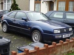 1991 Volkswagen Corrado 1.8 16v (Neil's classics) Tags: vehicle 1991 volkswagen corrado 18 16v vw