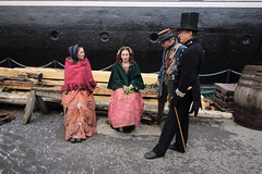 SS Great Britain Victorian Christmas Event (charliejb) Tags: victorianchristmas christmas 2018 ssgreatbritain bristol snow isambardkingdombrunel brunel