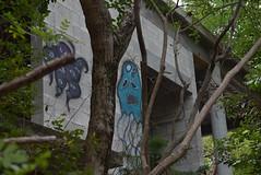 Florida graffiti (grandmadebbie86401) Tags: florida graffiti old buildings jungle