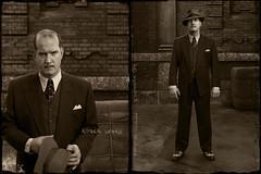 Roger Legris, 1937. (blaisearnold.net) Tags: guilty outlaw jail prisonnier voleur escroc thief vintages clothes 30s mugshot suspect crime gangster portrait police hat chapeau