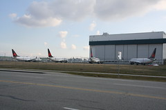 AC Max's parked at YVR (Vernon Harvey) Tags: boeing 737 max air canada cgehy cfsil cfsjh cfsoc vancouver yvr