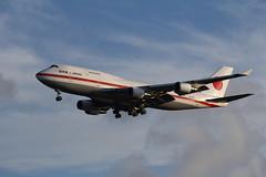 20-1101 Boeing 747-47C JASDF (FokkerAMS) Tags: boeing747 japanairselfdefenceforce jasdf 201101