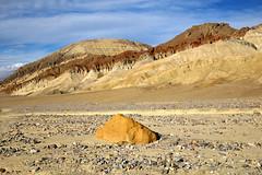 Death Valley colors (BDFri2012) Tags: deathvalleynationalpark deathvalley nationalpark rock hills gowergulchtrail goldencanyontrailhead california ca desert desertsouthwest americansouthwest