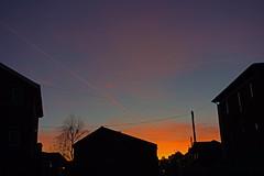 city sunset - St. Thomas, Exeter, Devon - Jan 2019 (Dis da fi we) Tags: city sunset st thomas exeter devon