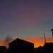 city sunset - St. Thomas, Exeter, Devon - Jan 2019