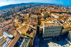 Florence (Arutemu) Tags: europe eu italy italia italien italian ilce ilcea7r it city cityscape ciudad tuscany tuscan toscana florence firenze urban view ville fisheye sigma 15mm sigma15 wideangle european town townscape