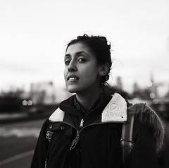 (Voodoostoned) Tags: kodak kodaktrix trix trix400 portrait person photography bw blackandwhite beautiful hasselblad 6x6 girl