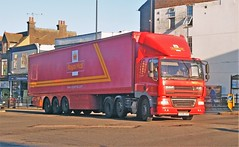Evening Mail (Lost-Albion) Tags: royalmail postoffice daf po59jyt 9239117 dunstable bedfordshire