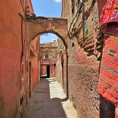 morocco 2014 (gerben more) Tags: morocco marokko marrakech marrakesh street arch africa