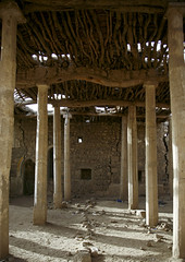Old Mosque, Marib, Yemen (Eric Lafforgue) Tags: arabia arabiafelix arabianpeninsula architectural architecture colourpicture day historical history islam mosque nopeople pillar placeofinterest religion ruin sun sunlight vertical yemen mg2626 marib