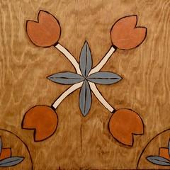Burned (Victoria T Hunt) Tags: woodburning flower