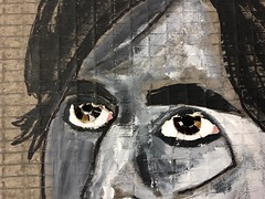 Eyes (Gila Mosaics n'stuff) Tags: portraitparty jkpp eyes portrait wip picassiette gilamosaics