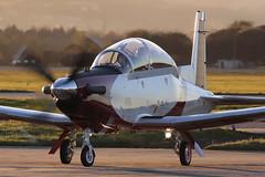 "Beechcraft T-6A Texan II ""Efroni"" 496 Israeli Air Force (Mark McEwan) Tags: raytheon beechcraft t6 t6a texanii 496 israeliairforce glasgowairport military aviation aircraft airplane efroni"