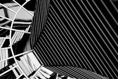 Berlin I (KnutAusKassel) Tags: bw blackandwhite blackwhite nb noirblanc monochrome black white schwarz weiss blanc noire blanco negro schwarzweiss grey gray grau architektur architecture building gebäude berlin abstrakt abstract lines linien