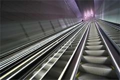uPs & DoWnS (leuntje) Tags: amsterdam netherlands vijzelgracht metro station underground gvb architecture benthemcrouwelarchitects escalator
