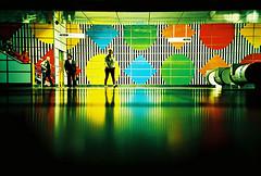 Lomo – here they come (lomomowlem) Tags: 35mm analogue crossprocess colourstreambrighton expiredfilm groundshot kodakelitechrome lomo lomography lca lofi london ratseye tube travel underground urban xpro xprocess tottenhamcourtroad shadows dark