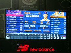 Citi Field, 09/26/18 (NYM v ATL): it's 7.10pm - let's play ball! (IMG_3611a) (Gary Dunaier) Tags: baseball stadiums stadia ballparks mets newyorkmets flushing queens newyorkcity queenscounty queensboro queensborough citifield