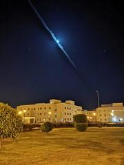 Moon in Qassim (Haris Dlakic) Tags: moon qassimuniversity huaweimate20pro nightmode buraydah بريدة القصيم جامعةالقصيم المملكةالعربيةالسعودية ١٤٤٠ november2018 smartphonesphotography