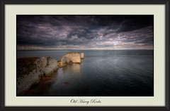 Old Harry (Nickerzzzzz - Thanks for stopping by :)) Tags: ©nickudy nickerzzzzz theartofphotography wwwdigittaliacom canon5d3 ef1635mmf4lisusm sky colour photograph landscape seascape ocean sea waves clouds light chalk rock rockformation rocks sunset oldharryrocks handfastpoint studland dorset isleofpurbeck nationaltrust southwestcoastpath england uk 5d34494