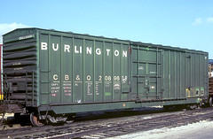 CB&Q Class XML-16 20896 (Chuck Zeiler54) Tags: cbq class xml16 20896 burlington railroad boxcar box car freight cicero train chuckzeiler chz