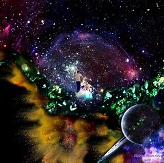 Art: New Dimension - By SilviAne Moon. (Silviane Moon) Tags: art digitalart digitalcollage digitalpainting futuristic photomanipulation planetas planets planetspace space new dimension surreal surrealart surrealism surrealismo surrealistic universe surrealfantasy arte silvianemoon silvianemoonart