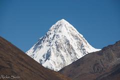 Pumori - 7161m (Aloke Surin) Tags: pumori nepal himalaya mountain peak ice snow summit