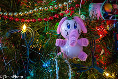 Happy Christmas Tree (jtrainphoto) Tags: christmaslights decorations tree holiday christmas ef100mm canon christmastree