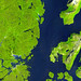 Nuuk (or Gadthab) is the capital and largest city of Greenland. Original from NASA. Digitally enhanced by rawpixel