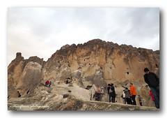 One morning. (natureflower photography) Tags: kapadokyacappadocia turkey unescoworldheritage nevşehir unusual rocks formation breaking dawn people