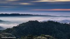 Dusk in the mountains. (grant1980:)) Tags: dusk mountain clouds sea foggy sunset 雲洞 雲洞山莊 grant1980 sanyi miaoli taiwan 雲海