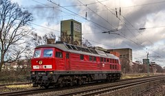 02_2019_01_09_Westerholt_1232_668_DB_Lz ➡️ Oberhausen (ruhrpott.sprinter) Tags: ruhrpott sprinter deutschland germany allmangne nrw ruhrgebiet gelsenkirchen lokomotive locomotives eisenbahn railroad rail zug train reisezug passenger güter cargo freight fret herten westerholt hamm oberhausen bbl db itl öbb pkpc rbh rpool 0175 1116 1203 1232 5370 6185 6186 blg circus roncalli circusroncalli dsk bergwerk lippe bergwerklippe sonne wolken himmel blau logo natur outdoor
