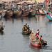 Among the boats