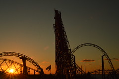 Icon and the Big One from Revolution (CoasterMadMatt) Tags: pleasurebeachblackpool2018 blackpoolpleasurebeach2018 pleasurebeachblackpool blackpoolpleasurebeach pleasurebeach blackpool pleasure beach vampirebeach2018 vampirebeach vampire pepsimaxbigone thebigone bigone big one icon newridefor2018 newrollercoasterfor2018 newfor2018 sunset sunsets silhouette silhouettes silhouetted orangesky fadinglight fading light ride rides rollercoaster rollercoasters roller coaster coasters englishrollercoasters rollercoastersinengland amusementpark themepark amusement park theme parks englishamusementparks amusementparksinengland fairground funfair fyldecoast fylde coast lancashire lancs northwestengland england britain great greatbritain gb unitedkingdom united kingdom uk europe october2018 autumn2018 october autumn 2018 coastermadmattphotography coastermadmatt photos photographs photography nikond3200