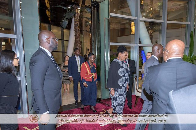 Annual Dinner in Honour of Heads of Diplomatic Missions